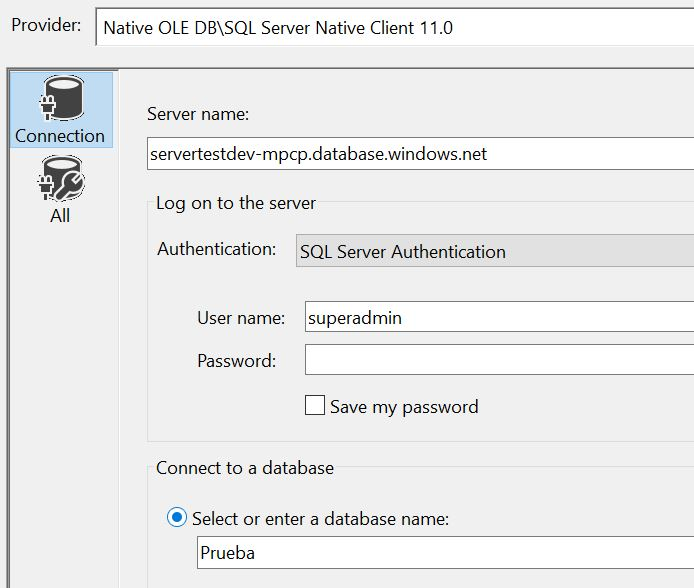 ssis connection manager configuration